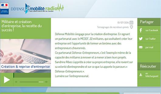 Défense Mobilité Radio